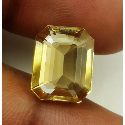 6.10 Carats Natural Yellow Citrine 12.06 x 9.73 x 6.42 mm