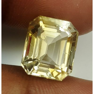 7.54 Carats Natural Yellow Citrine 12.33 x 10.60 x 8.03 mm