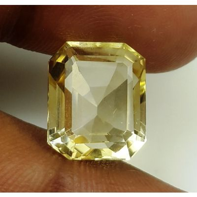 7.74 Carats Natural Yellow Citrine 12.72 x 10.62 x 7.69 mm