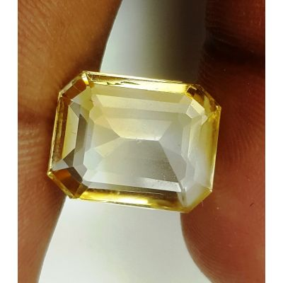 7.70 Carats Natural Yellow Citrine 14.36 x 11.32 x 5.84 mm