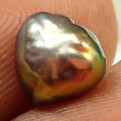 0.99 Carats Natural Venezuela Pearl 5.83 x 5.54 x 4.03 mm