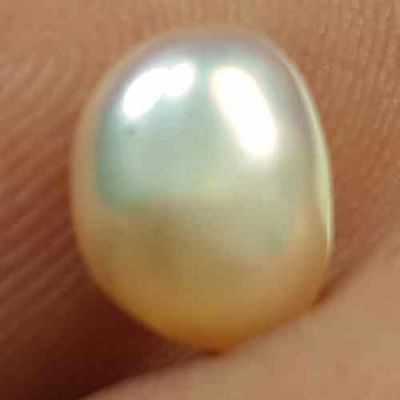 0.99 Carats Natural Venezuela Pearl 5.87 x 5.26 x 4.35 mm
