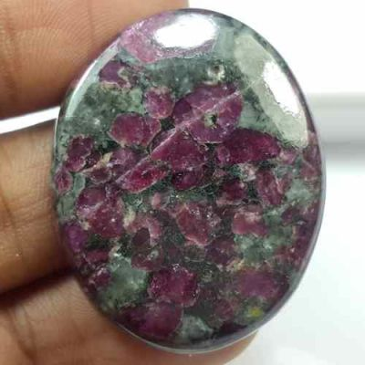48.00 Carats Natural Eudialyte 34.36 x 27.95 x 4.39 mm