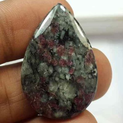 27.30 Carats Natural Eudialyte 29.62 x 22.56 x 4.24 mm
