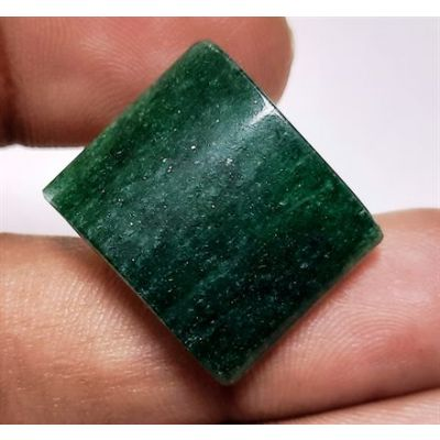 26.45 Carats  Natural Green Aventurine Quartz 20.83 x 17.25 x 6.97 mm