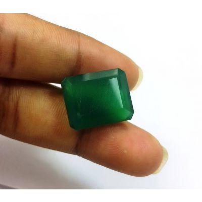10.60 Carats Green Onyx 15.22 x 12.33 x 7.06 mm