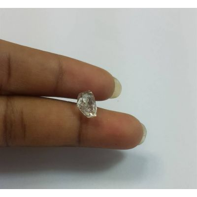 1.82 Carats Herkimer Diamond 8.50 x 6.64 x 6.09 mm