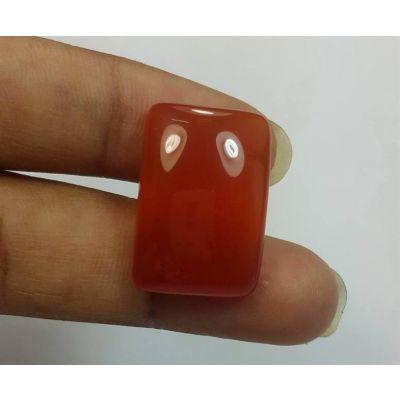 16.99 Carats Orange Chalcedony 21.11 x 14.45 x 5.85 mm