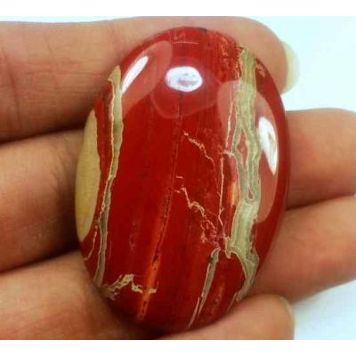 67.62 Carats Red River Jasper 41.47 X 28.76 X 5.76 mm