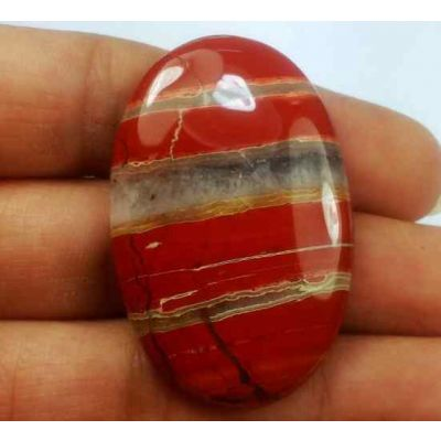 60.07 Carats Red River Jasper 42.09 X 27.20 X 5.71 mm