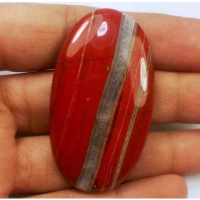 70.52 Carats Red River Jasper 47.83 X 27.02 X 5.86 mm