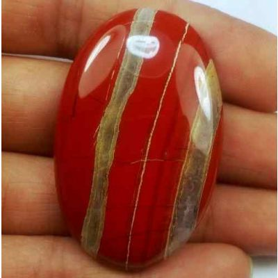 71.17 Carats Red River Jasper 43.71 X 27.95 X 6.53 mm