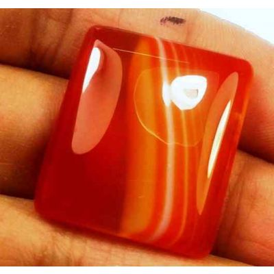 29.12 Carats Banded Agate 3.82 X 20.93 X 5.68 mm