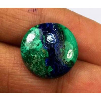 10.44 Carats Azurite Malachite 15.48 X 15.28 X 4.06 mm