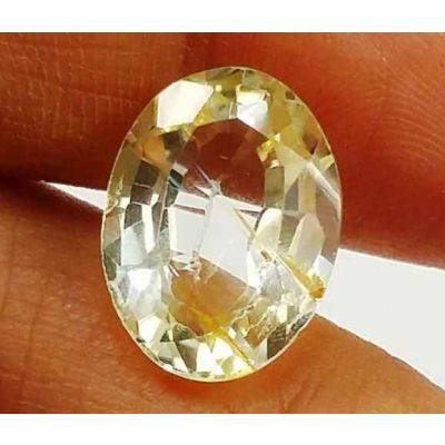 5.68 Carats Yellow Topaz 13.00 X 9.58 X 5.81 mm