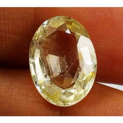 5.46 Carats Yellow Topaz 12.79 X 9.47 X 5.43 mm