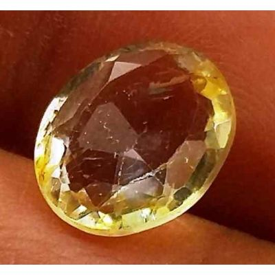 2.83 Carats Yellow Topaz 9.68 X 8.23 X 4.01 mm