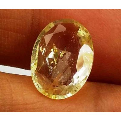 4.95 Carats Yellow Topaz 12.89 X 9.45 X 4.51 mm