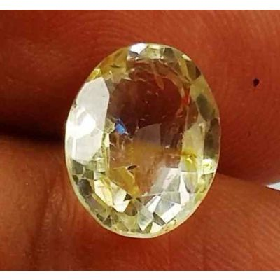 3.27 Carats Yellow Topaz 10.58 X 7.88 X 4.92 mm