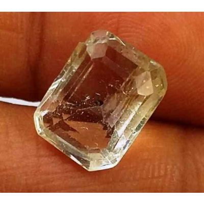 5.41 Carats Yellow Topaz 10.76 X 8.66 X 5.89 mm
