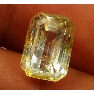 5.66 Carats Yellow Topaz 11.14 X 7.61 X 7.09 mm