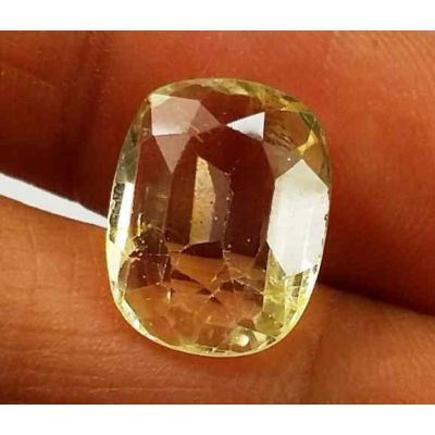 4.95 Carats Yellow Topaz 12.42 X 9.58 X 4.59 mm