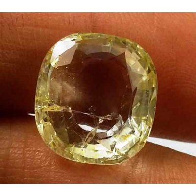 10.25 Carats Yellow Topaz 12.76 X 11.76 X 6.61 mm