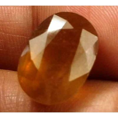 12.82 Carats African Padparadscha Sapphire 13.88 X 9.84 X 9.00 mm