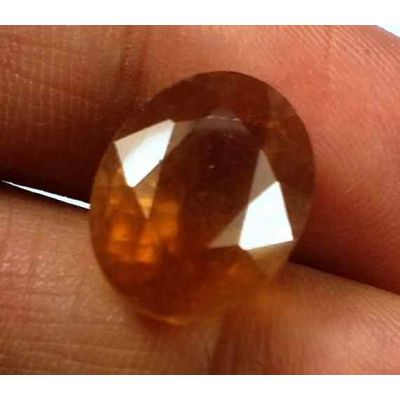 12.84 Carats African Padparadscha Sapphire 13.37 X 10.66 X 8.97 mm
