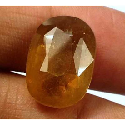 15.37 Carats African Padparadscha Sapphire 15.53 X 10.89 X 8.10 mm