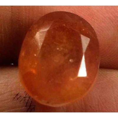 12.40 Carats African Padparadscha Sapphire 13.65 X 11.14 X 7.80 mm