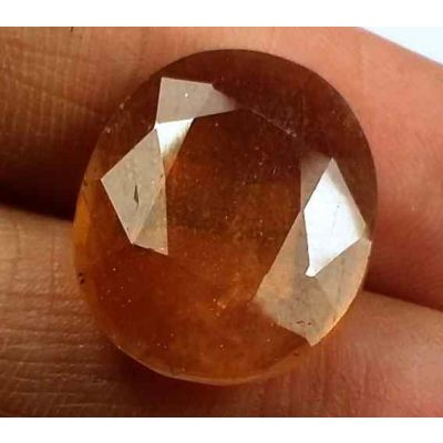 15.24 Carats African Padparadscha Sapphire 17.25 X 14.17 X 5.54 mm