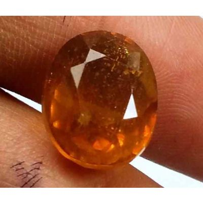 11.75 Carats African Padparadscha Sapphire 12.58 X 10.20 X 8.40 mm