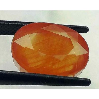 11.89 Carats African Padparadscha Sapphire 13.00 x 10.00 x 7.85 mm