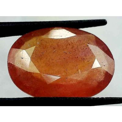 16.65 Carats African Padparadscha Sapphire 19.60 x 15.44 x 5.06 mm