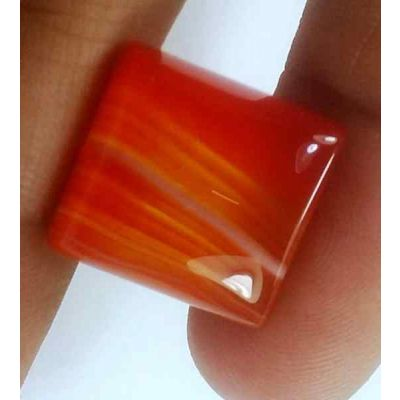 16.05 Carats Australia Banded Agate 15.46 x 14.59 x 7.02 mm