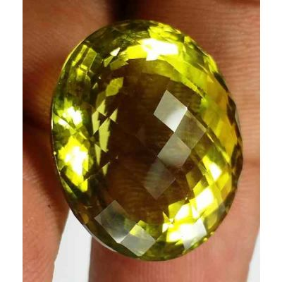 37.00 Carats Lemon Quartz 21.93 x 18.54 x 15.15 mm