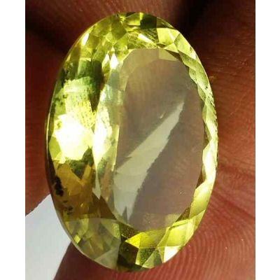 22.45 Carats Lemon Quartz 19.29 x 16.58 x 12.15 mm