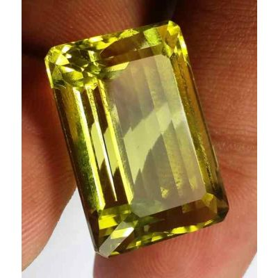 28.20 Carats Lemon Quartz 20.60 x 14.43 x 11.60 mm