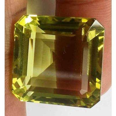 31.40 Carats Lemon Quartz 17.46 x 17.04 x 13.53 mm