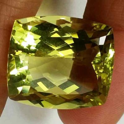 26.95 Carats Lemon Quartz 19.28 x 16.53 x 12.10 mm