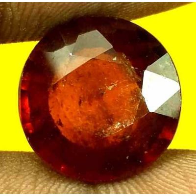 10.2 Carats Ceylon Hessonite 13.70 x 13.67 x 7.00 mm