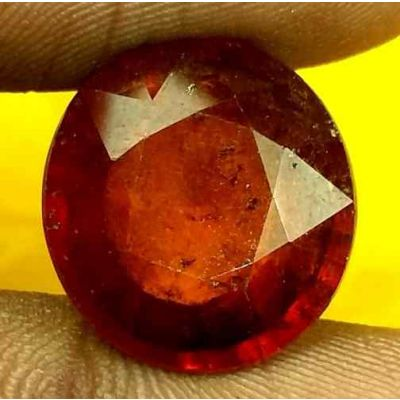 10.64 Carats Ceylon Hessonite 14.34 x 13.52 x 7.05 mm
