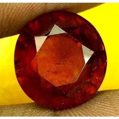 12.31 Carats Ceylon Hessonite 13.83 x 13.13 x 8.51 mm