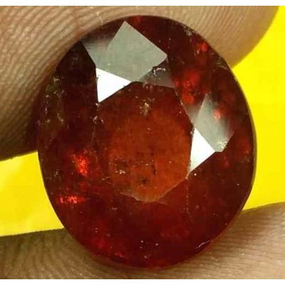 13.38 Carats Ceylon Hessonite 13.99 x 12.08 x 9.89 mm