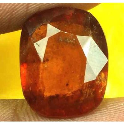 13.32 Carats Ceylon Hessonite 15.29 x 12.44 x 7.15 mm