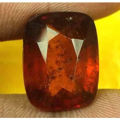 11.14 Carats Ceylon Hessonite 14.31 x 11.24 x 7.61 mm