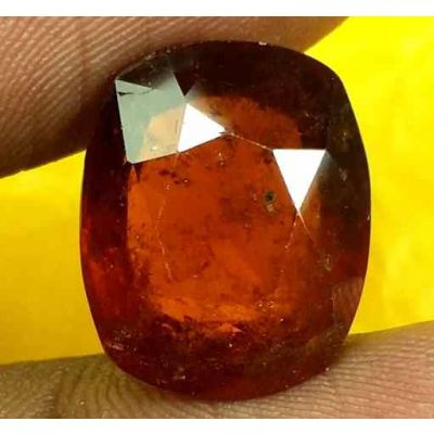 12.28 Carats Ceylon Hessonite 14.99 x 12.19 x 7.09 mm