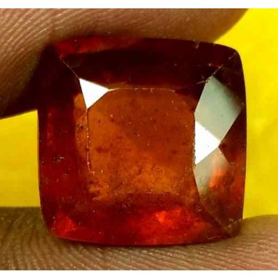 10.83 Carats Ceylon Hessonite 12.80 x 12.60 x 7.20 mm