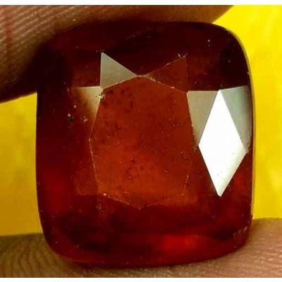 11.69 Carats Ceylon Hessonite 13.70 x 12.55 x 7.24 mm